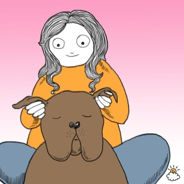 A kutya szeretetnyelve - Fülvakarászás